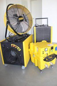 Trocknungsgeräte günstig mieten