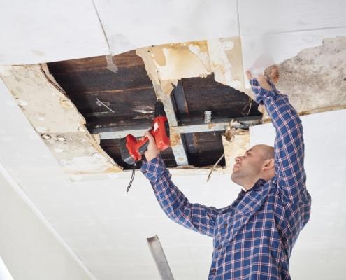 Wasserschadensanierung Schadenbehebung nach Feuchteschaden Bad Aibling